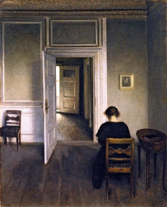 11_Vilhelm Hammershøi, Interiør, Strandgade