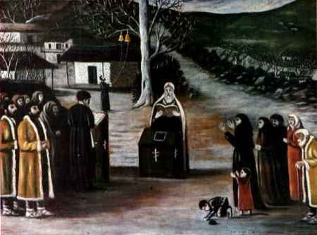 10.Niko_Pirosmani._''Public_Prayer_in_a_Village''._Oil_on_cardboard,_79x100_cm._The_State_Museum_of_Fine_Arts_of_Georgia,_Tbilisi