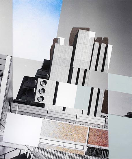 Julie Boserup. Slightly Tilted Concrete, 2013