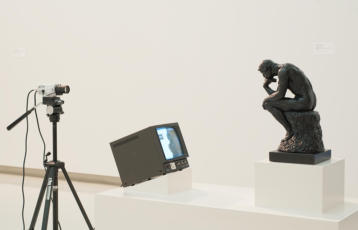 Nam June Paik – TV Rodin (1976–1978)