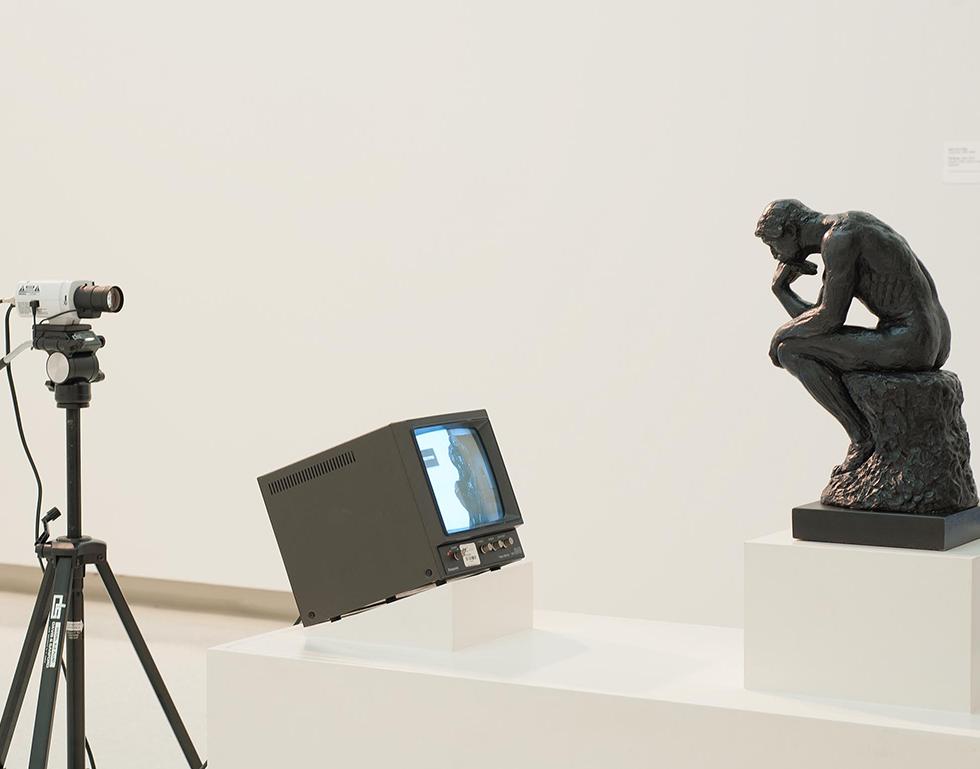 Nam June Paik – TV Rodin (1976–1978)