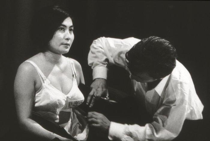 Yoko Ono – Cut Piece (1965)