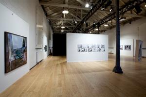 Installationsvue fra Fotografisk Centers udstilling, Arkitektur og fotografi.