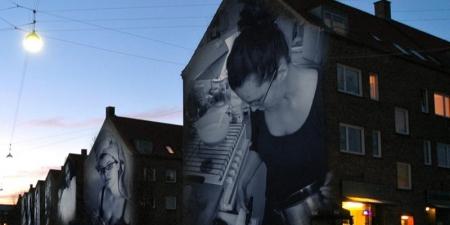 Hanne Lise Thomsen og Kassandra Wellendorf: Inside out 2400, Møntmestervej i København NV, 2012