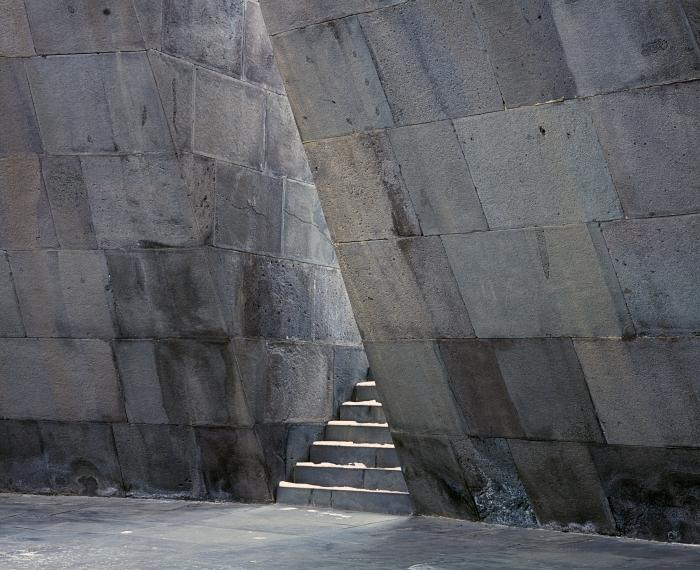 Christian Danielewitz. Interior (Armenian Genocide Memorial). Tsitsernakaberd, Armenia. 22. december 2013